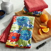 The Pioneer Woman Dazzling Dahlias Kitchen Towels, Set of 4
