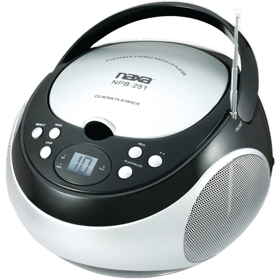 Naxa Portable CD Player with AM/FM Radio