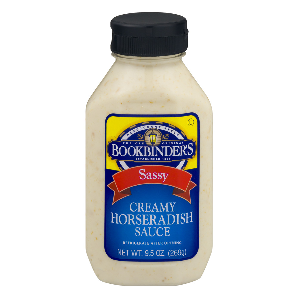 Bookbinder's Creamy Horseradish Sauce, 9.5 OZ by Bookbinder's Food Products