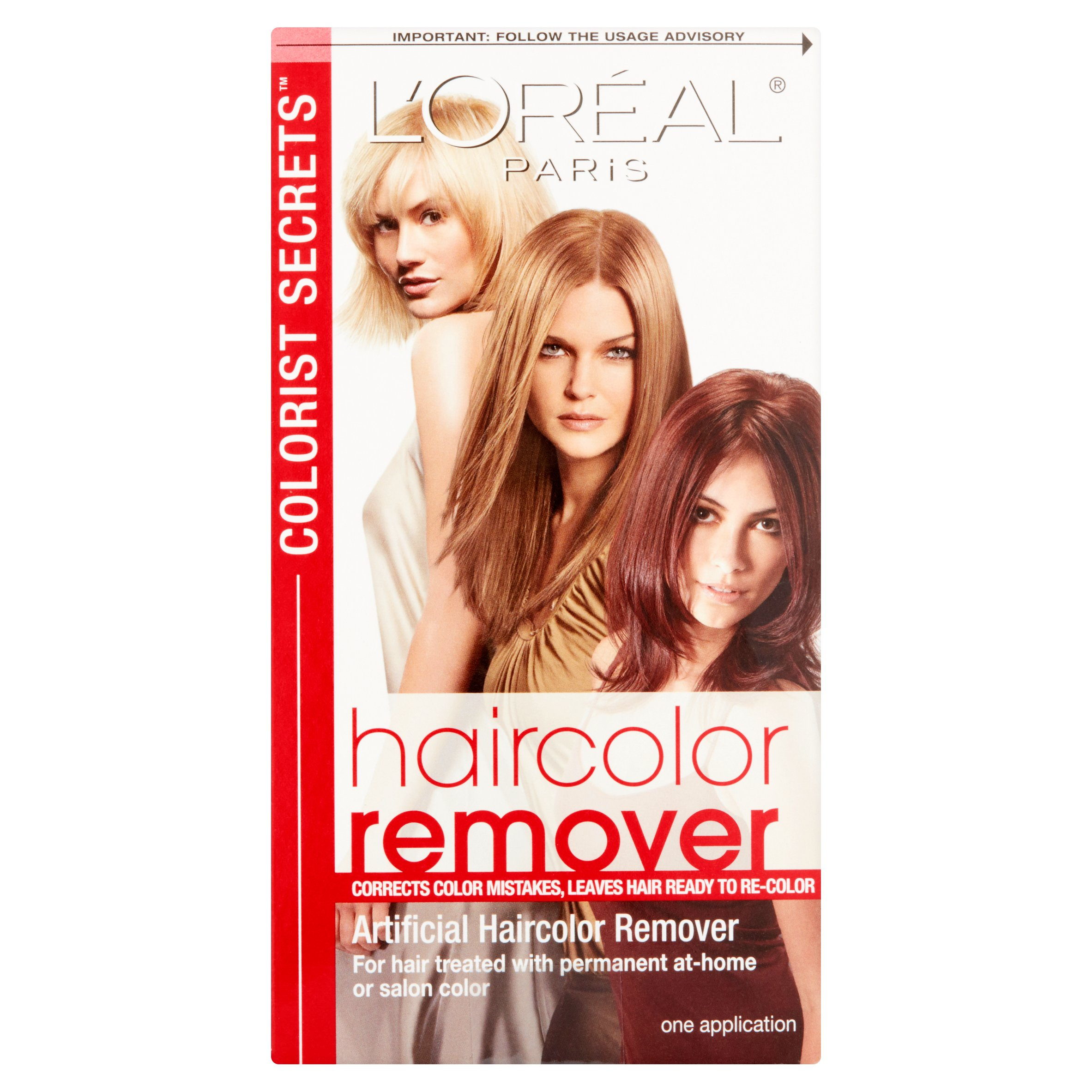 Loreal Paris Colorist Secrets Haircolor Remover Walmart