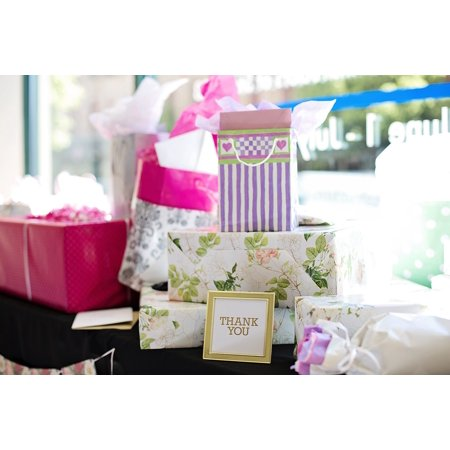 canvas print presents gifts bridal shower wedding shower stretched canvas 10 x 14