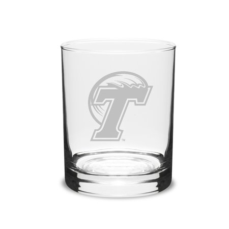 Tulane Green Wave 14 oz Deep Etched Double Old Fashion (Green Double Old Fashioned Glass)