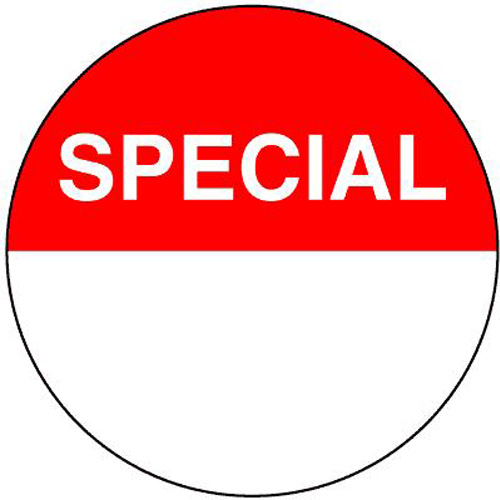 Uline 2-inch Special Circle Labels