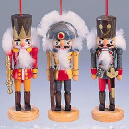 club pack of 24 wooden soldier christmast nutcracker ornaments 5 - Christmas Decorations Wooden Soldiers