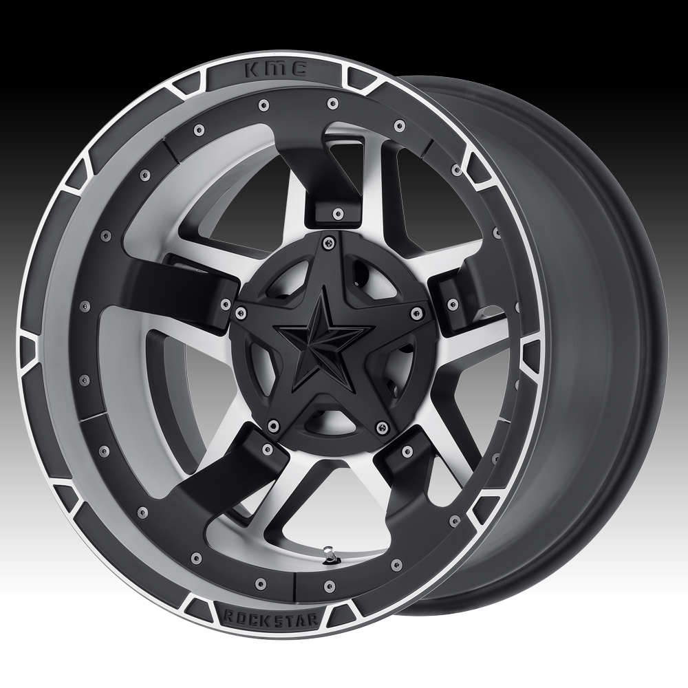 KMC-XD Wheels XD82729054518 XDWXD82729054518 XD827 RS3 20X9 5X4.5/5.0 MATTE BLACK MACHINED WITH BLACK ACCENTS 18 O/S 5.71 BP