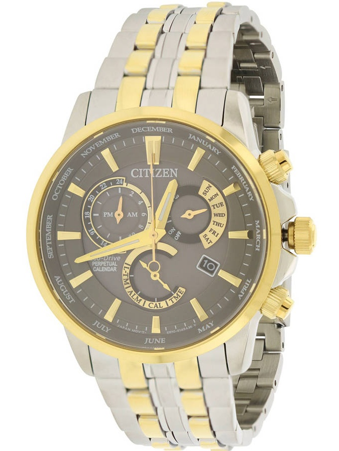 Men's Citizen Calibre 8700 Perpetual Watch BL8144-54H