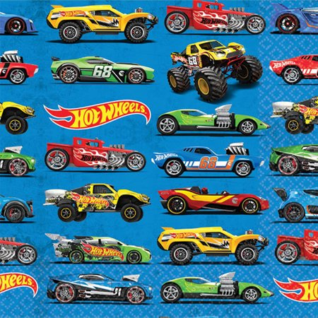 Hot Wheels Wild Racer Beverage Napkins (16 Count)