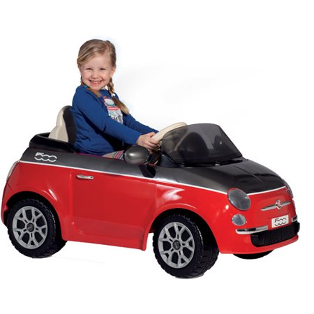 Peg Perego Fiat 500 12-Volt Battery-Powered Ride-On