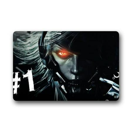 DEYOU Metal Gear Rising Revengeance Game Doormat Outdoor Indoor Floor Mats Non-Slip Bathroom Mats Size 23.6x15.7 Inch