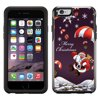 Skin Decal for OtterBox Symmetry Apple iPhone 6 Case - Merry Christmas Santa Claus on Parachute