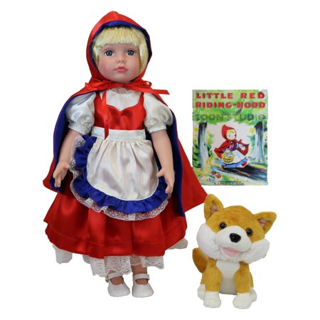 Deluxe Once Upon a time Storybook Doll, Little Red Riding (Living Dead Dolls Little Red Riding Hood)