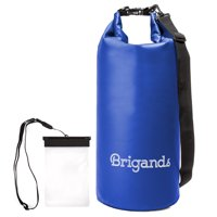 Brigands Waterproof Dry Bag with Waterproof Phone Case - Choose Your Size and Color