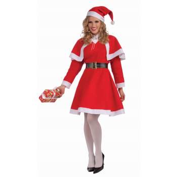 MISS SANTA COSTUME - Mrs Santa Claus Costume