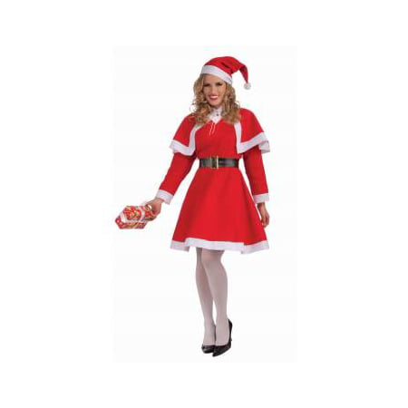 MISS SANTA COSTUME - Traditional Mrs Claus Costume