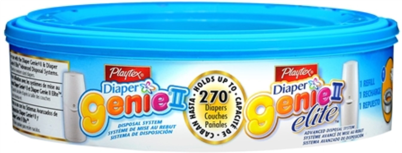 6 Pack - Playtex Diaper Genie II Refill 1 Each