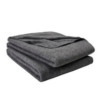 Mainstays Value Bed Blanket, Multiple Sizes & Colors
