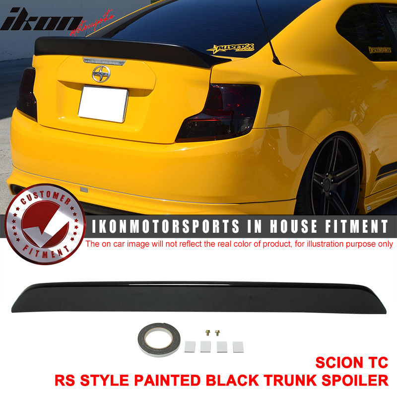 Fits 11-16 Scion TC RS Style Trunk Spoiler - ABS
