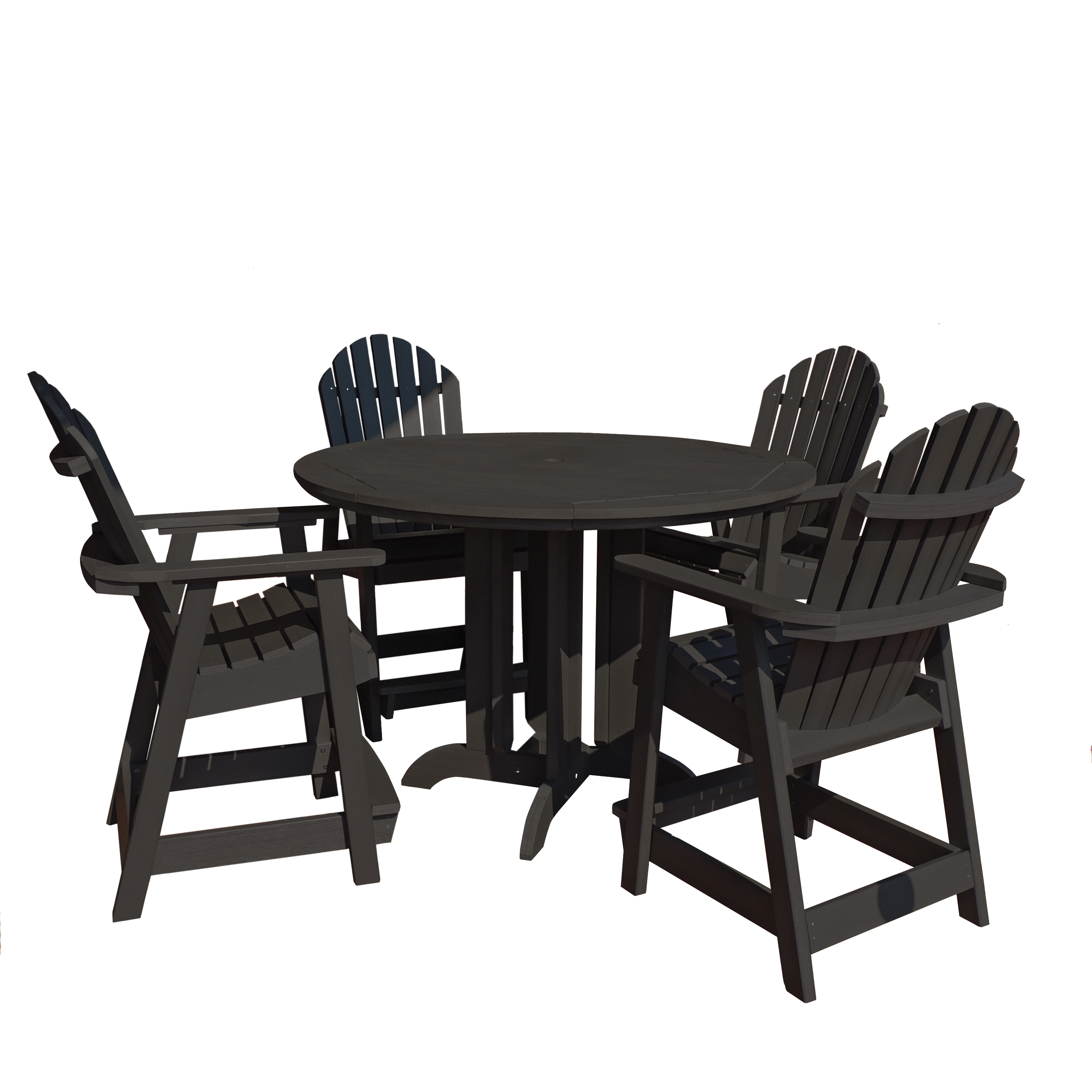 highwood® Eco-Friendly Hamilton 5pc Round Counter Dining Set