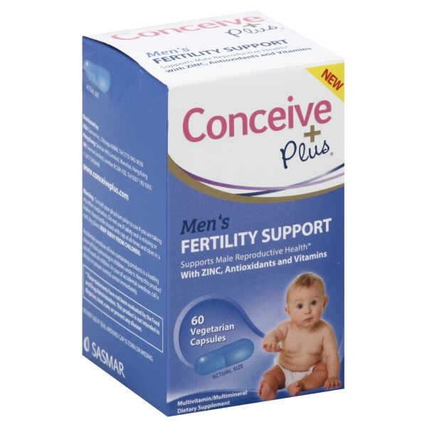 Conceive Plus Men's Fertility Support Multivitamin/Multimineral Supplement, 60 count