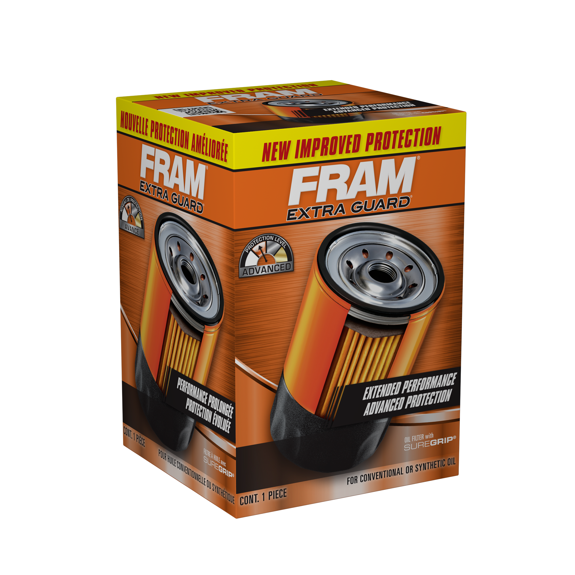 FRAM Extra Guard Oil Filter, PH2