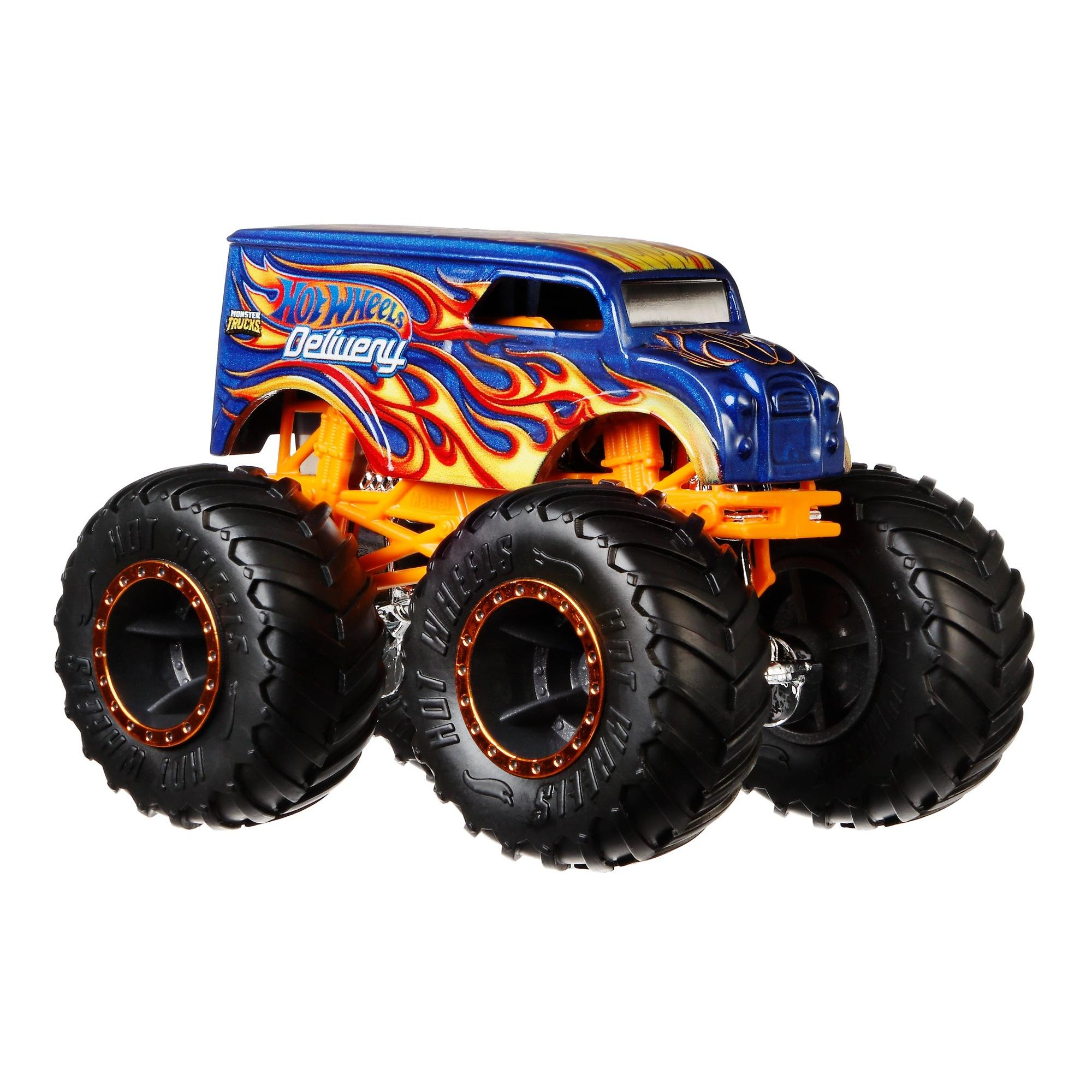 Hot Wheels Monster Trucks Die Cast Vehicle Styles May Vary Walmart Com Walmart Com