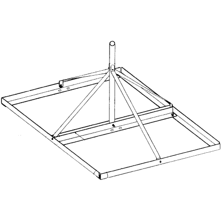 Rohn Products - FRM238HC - FRM Non-penetrating Roof Mount...