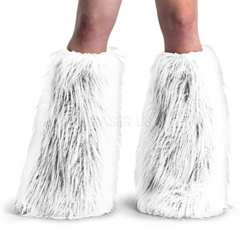 Funky Faux Fur Yeti Adult Boot Sleeves - COLOR Choices