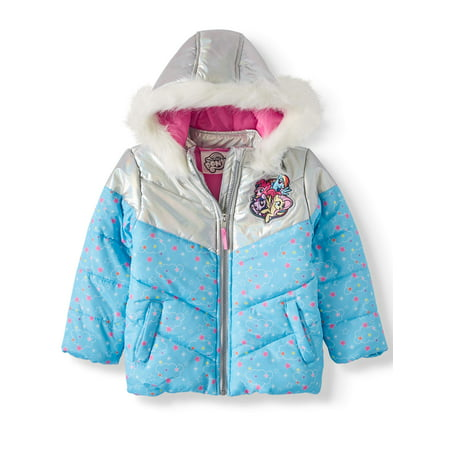 My Little Pony Toddler Girl Winter Jacket Coat 2t Winter Coat