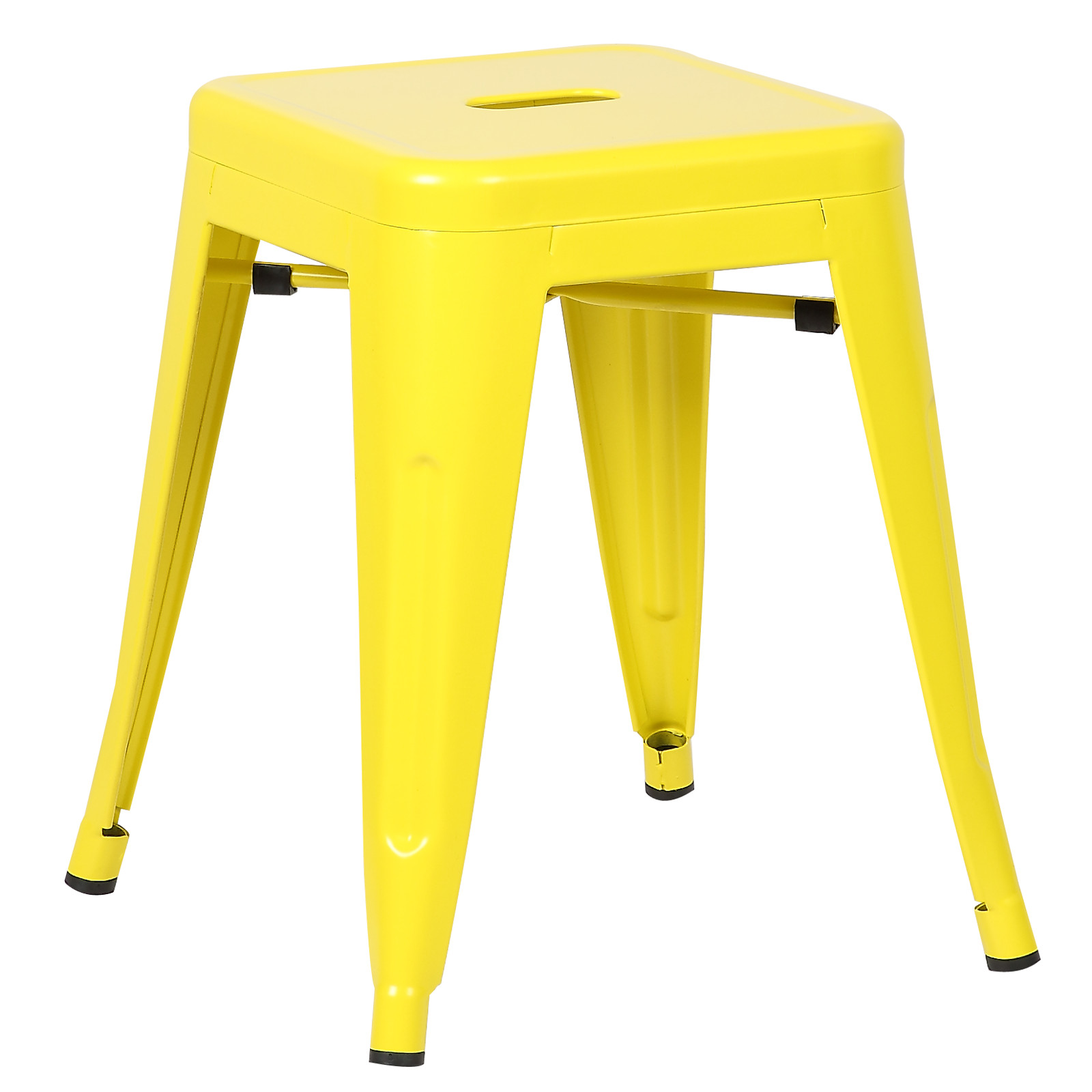 """Poly and Bark Trattoria 18"""" Stool in Yellow"""