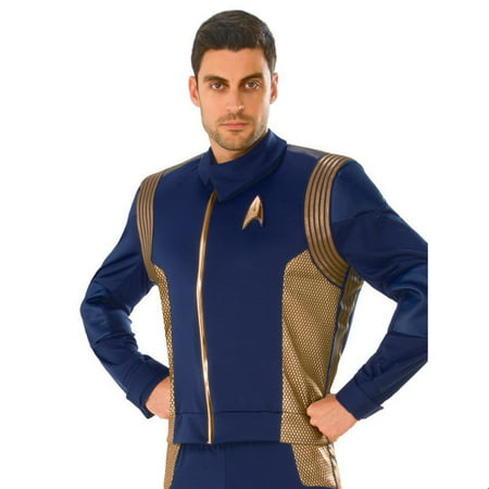 Halloween Costume Accessory Star Trek Discovery Womens Gold Command Uniform for $<!---->