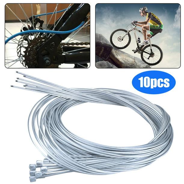 Oubit Derailleur Cable 10pcs Bike Derailleur Cable Road Shift Cable Inner Shift Cable for Bicycle