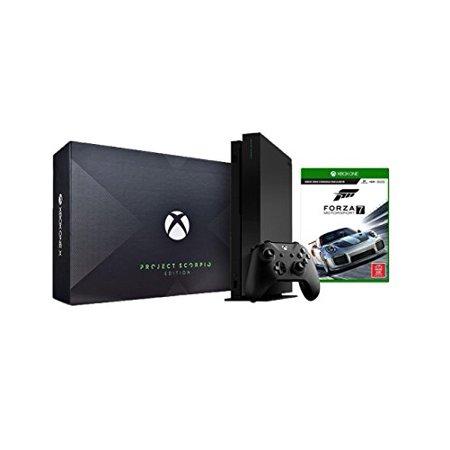 Microsoft Xbox One X Project Scorpio Forza Motorsport 7 Bundle (2 Items): Xbox One X 1TB Project Scorpio Console and Forza Motorsport 7
