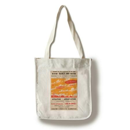 Nancy Vintage Poster (artist: Ludo) France c. 1909 (100% Cotton Tote Bag - Reusable) ()