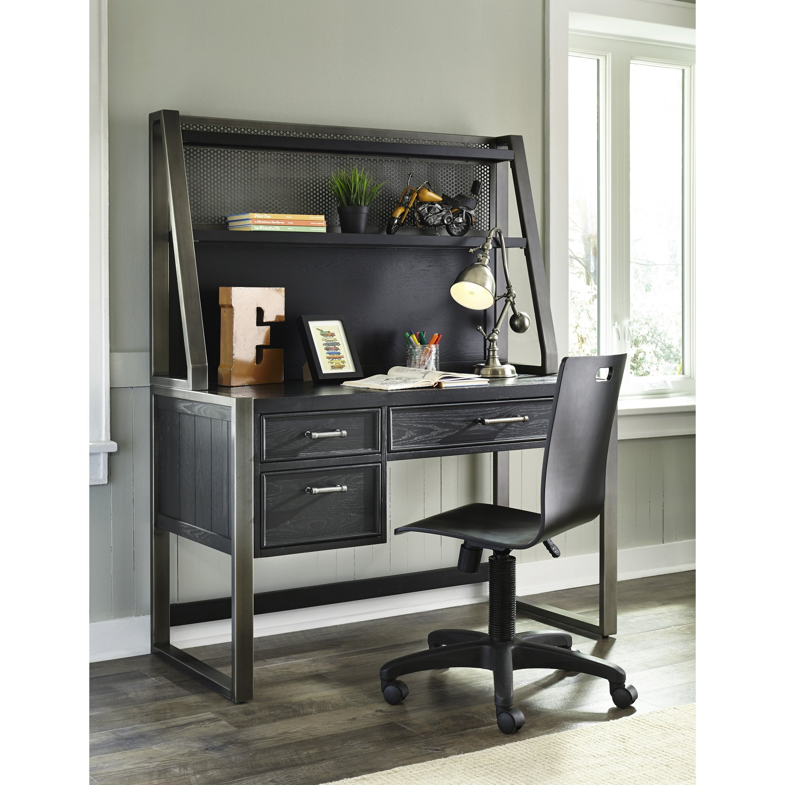 Samuel Lawrence Furniture Graphite Desk Chair