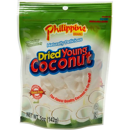 Philippine Brand Dried Young Coconut  5 Oz