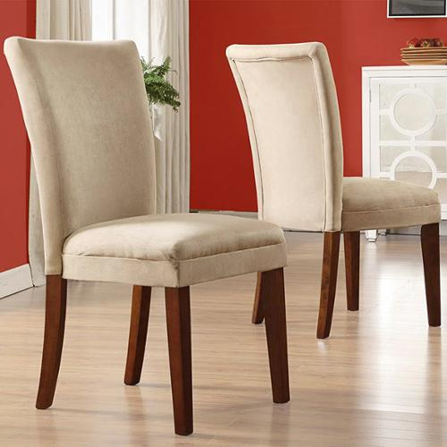 This button opens a dialog that displays additional images for this product with the option to zoom in or out. & Tribecca Home Parson Classic Upholstered Dining Chair (Set of 2 ...