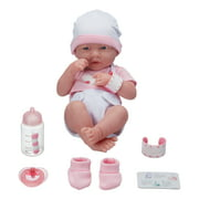 My Sweet Love La Newborn Baby with Accessories, Girl, Choose from 2 Styles