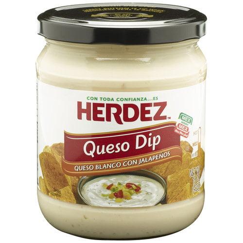 Herdez Queso Blanco Con Jalapenos Queso Dip, 15 oz
