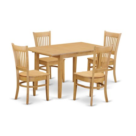 oak w 5 piece dining room set dining table and 4 dining room chairs