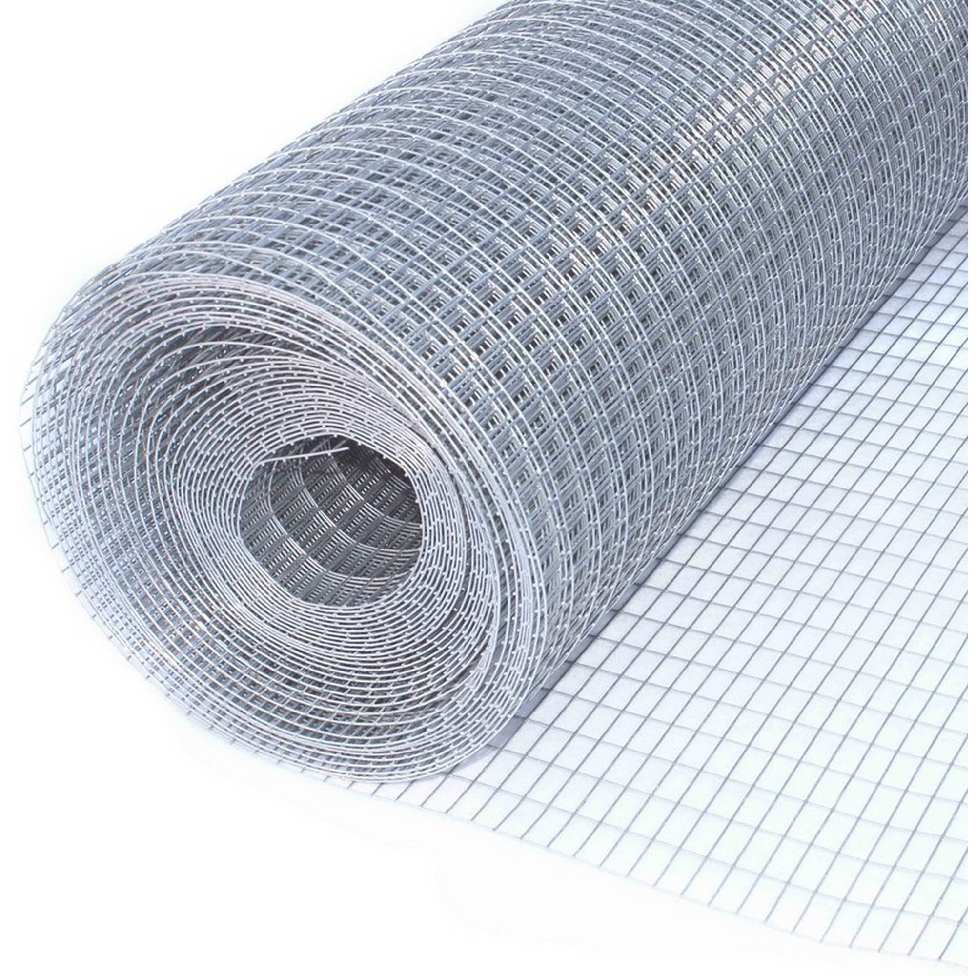 "Image of Aleko Mesh Wire Roll Cloth 16-Gauge Steel, 30X10, 1/2"" x 1"" Mesh"