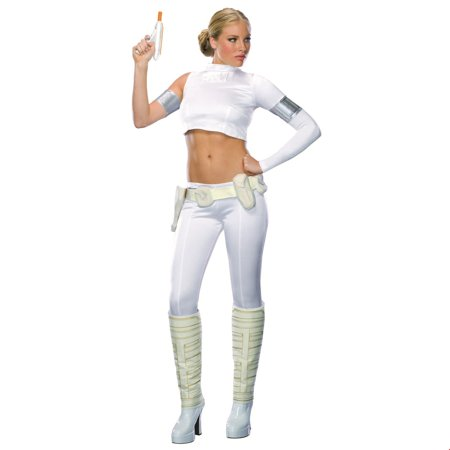 Star Wars Womens Padme Amidala- 2 Pc Halloween Costume - Queen Padme Amidala Costume