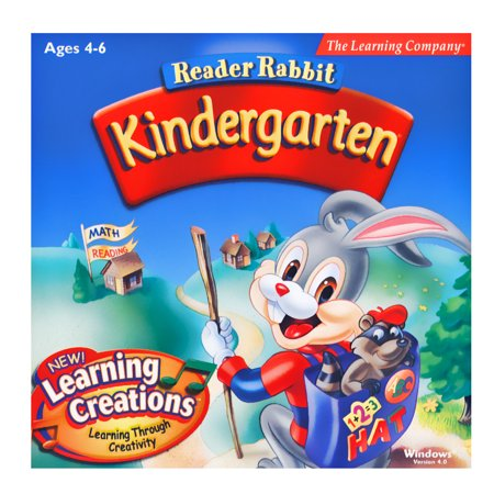 Reader Rabbit Kindergarten - Learning Creations (Learn To Type Software)