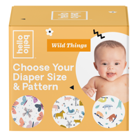 Hello Bello Wild Things Jumbo Pack (Choose Size & Pattern)