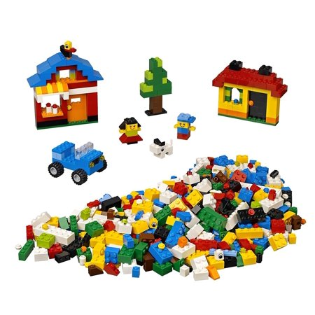 Lego Fun With Bricks 600 Piece Building Set 4628 Walmart