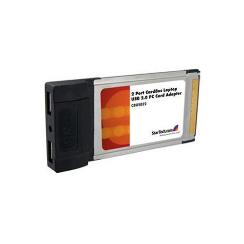 Startech Com 2-port CardBus USB 2.0 Card Adapter