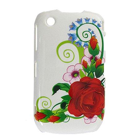 Unique Bargains Hard Plastic Floral Back Case Cover Protector for Blackberry 8520 - image 1 of 1