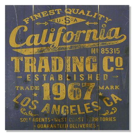 Gizaun Art California Trading Company Indoor Outdoor Wall Art