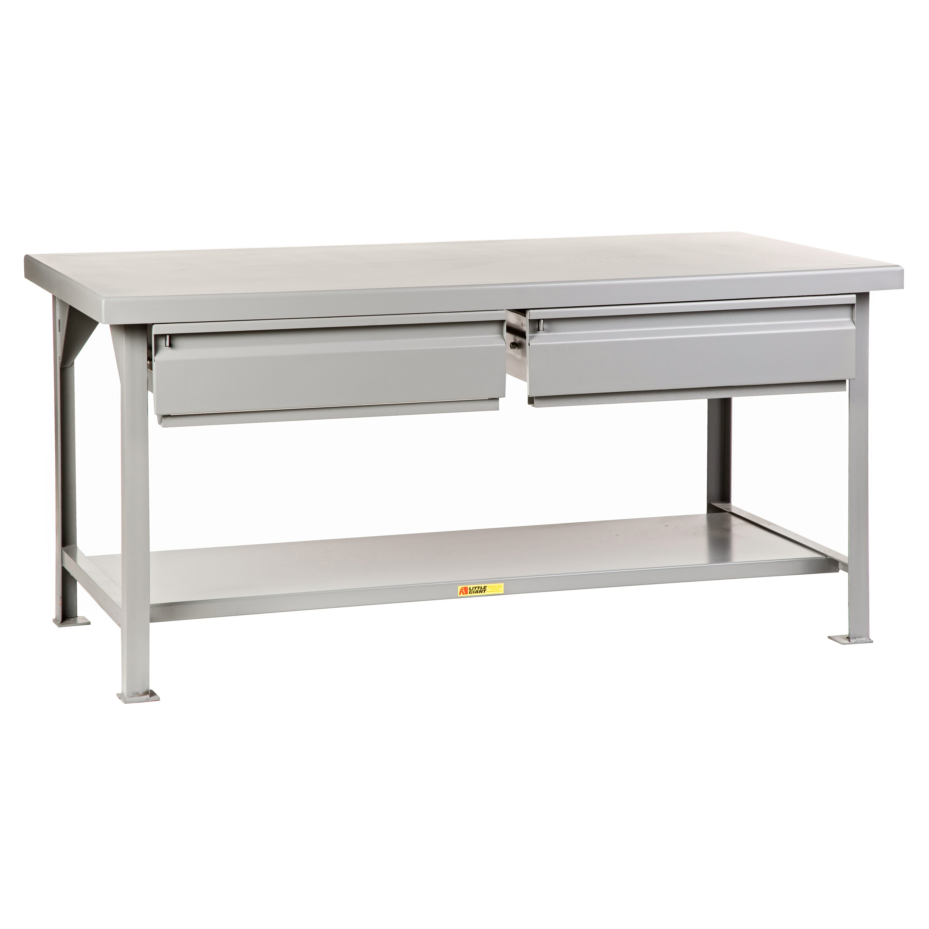 Little Giant Heavy Duty Workbench with 2 Drawers by Brennan Equipment and Manufacturing Inc