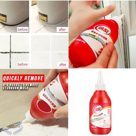 Muxika Household Chemical Miracle Deep Down Wall Mold Mildew Remover Cleaner Caulk Gel ()