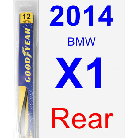 2014 BMW X1 Rear Wiper Blade - Rear